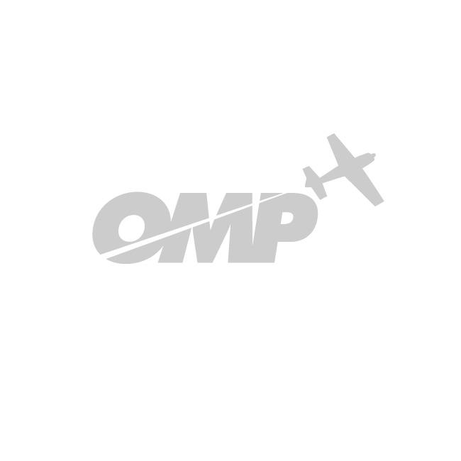 Hangar 9 1/4 Pilot, Civilian Aerobatic Helmet,w/Mic&Snglss